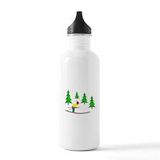 Skiing Water Bottle
