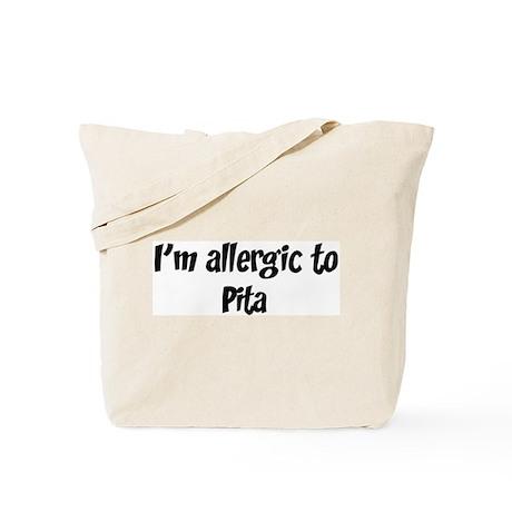 Allergic to Pita Tote Bag