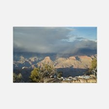 South Rim Grand Canyon Overlook Rectangle Magnet