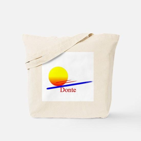 Donte Tote Bag