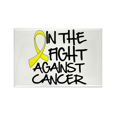 In the Fight Testicular Cancer Rectangle Magnet