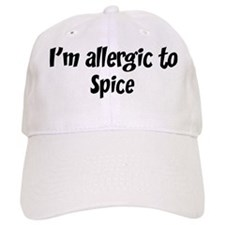 Allergic to Spice Baseball Cap