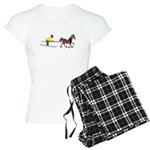 Horse Skijoring Women's Light Pajamas