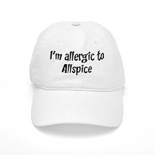 Allergic to Allspice Baseball Cap