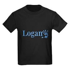 Blue Logan Name T-Shirt