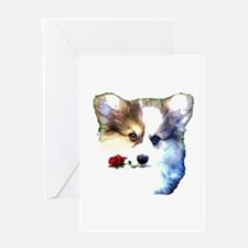 Valentines Day Puppy Greeting Cards