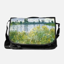 Claude Monet - Banks of the Seine Messenger Bag