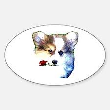 Valentine puppy Decal