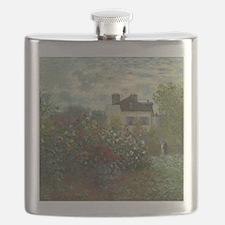 Claude Monet - The Artists Garden in Argente Flask