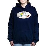 Dog Skijoring Hooded Sweatshirt