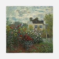 Claude Monet - The Artists Garden in A Queen Duvet