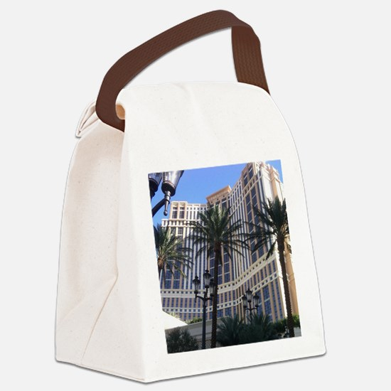 Palazzo Canvas Lunch Bag