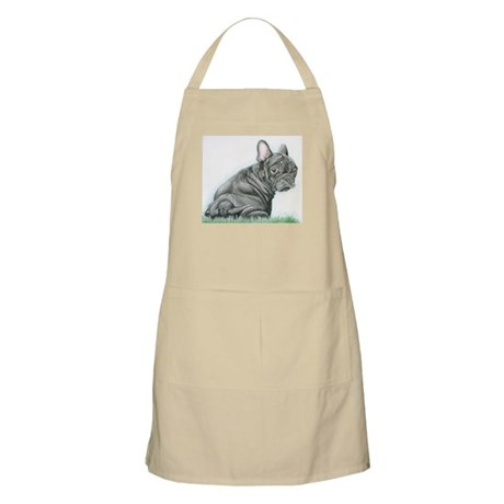 french bulldog puppy Apron