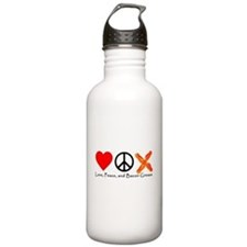 Love Peace and Bacon Grease Water Bottle