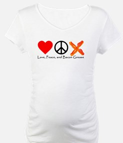 Love Peace and Bacon Grease Shirt