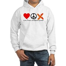 Love Peace and Bacon Grease Hoodie