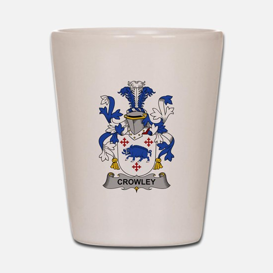 Crowley Family Crest Shot Glass