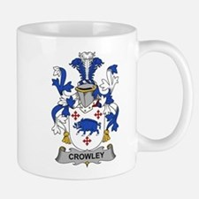 Crowley Family Crest Mugs