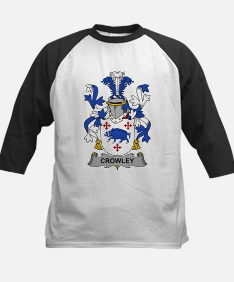 Crowley Family Crest Baseball Jersey