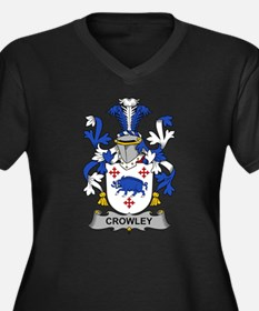 Crowley Family Crest Plus Size T-Shirt