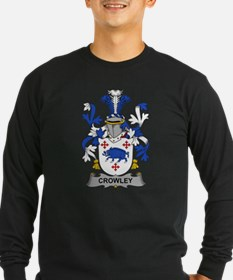 Crowley Family Crest Long Sleeve T-Shirt