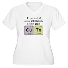 Cu Te (Cute) Chemistry T-Shirt