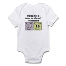 Cu Te (Cute) Chemistry Infant Bodysuit