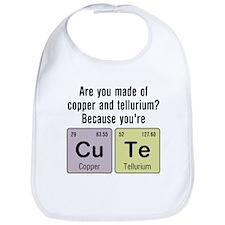 Cu Te (Cute) Chemistry Bib