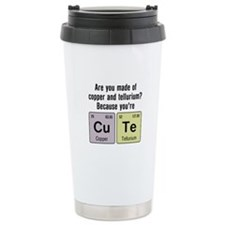 Cu Te (Cute) Chemistry Travel Mug