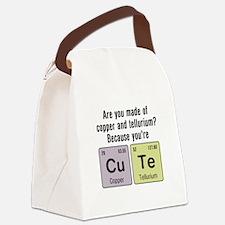 Cu Te (Cute) Chemistry Canvas Lunch Bag
