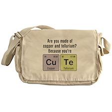 Cu Te (Cute) Chemistry Messenger Bag