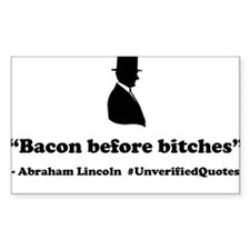 Bacon Before Bitches Decal