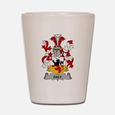 Daly Family Crest Shot Glass