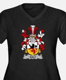 Daly Family Crest Plus Size T-Shirt