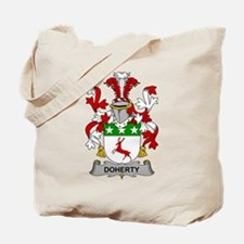 Doherty Family Crest Tote Bag