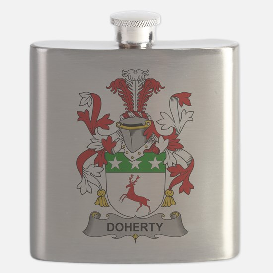 Doherty Family Crest Flask
