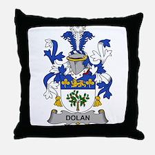 Dolan Family Crest Throw Pillow