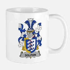 Dolphin Family Crest Mugs