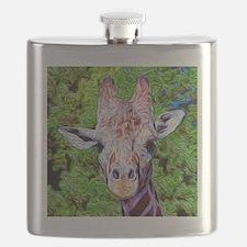 Stylized Giraffe Flask