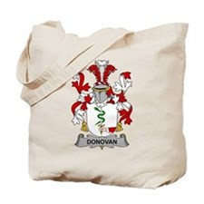 Donovan Family Crest Tote Bag