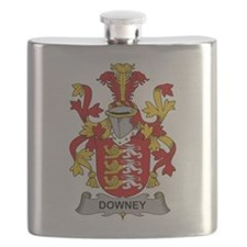 Downey Family Crest Flask