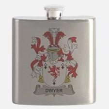 Dwyer Family Crest Flask