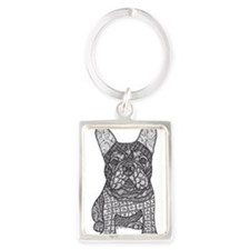My Love- French Bulldog Keychains