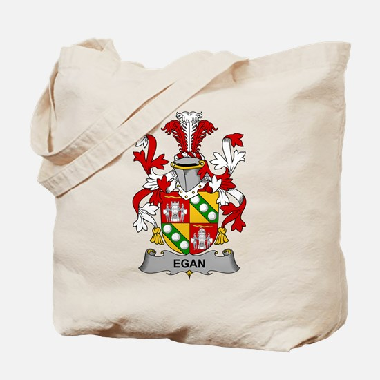 Egan Family Crest Tote Bag