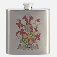 Egan Family Crest Flask