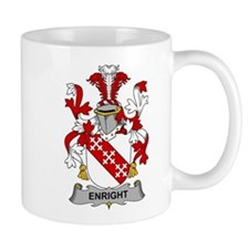 Enright Family Crest Mugs