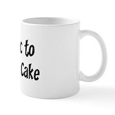 Allergic to Black Forest Cake Mug