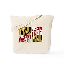 Maryland Flag Tote Bag