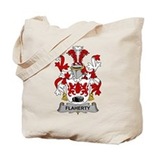 Flaherty Family Crest Tote Bag