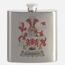 Flaherty Family Crest Flask
